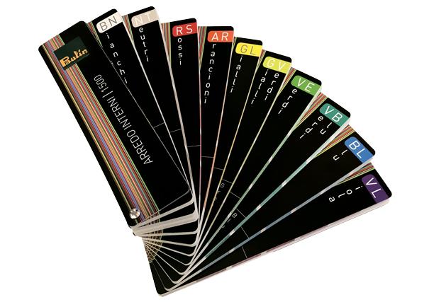 Mazzetta Colori Arredo Interni 1500